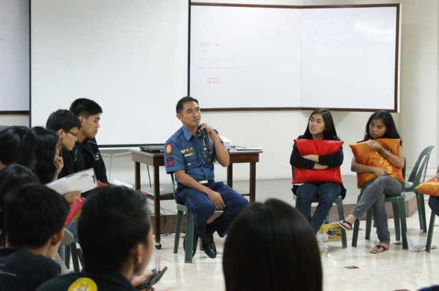 SPO2 Ed Figuracion at the 6th NCA Leadership Journey