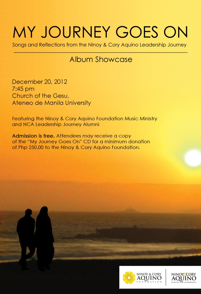 Journey Album Showcase e-poster 121112a
