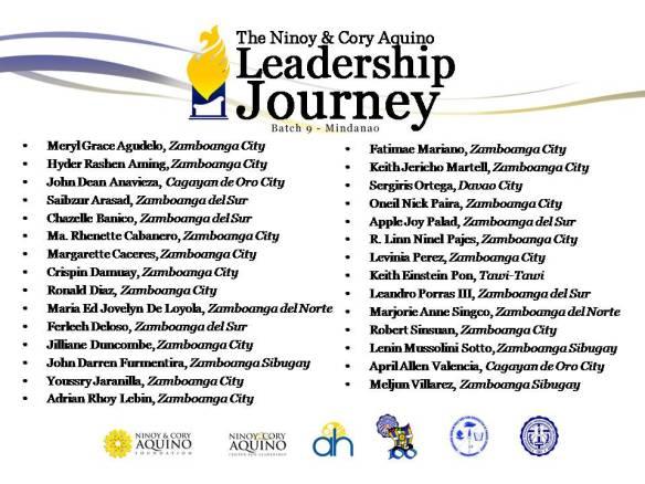 Journey 9 Participants